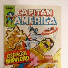 Cómics: CAPITÁN AMÉRICA VOLUMEN 1 FORUM NÚMERO 24. ESPECIAL NAVIDAD. 125 PTAS. DICIEMBRE 1986. 32 PÁG.. Lote 106658951