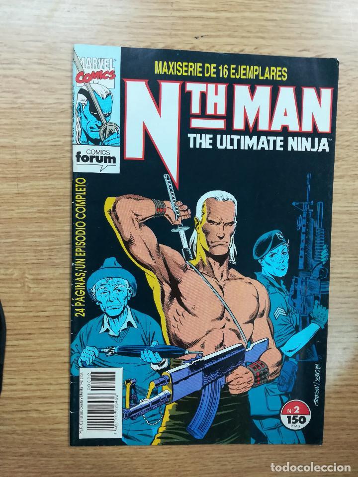 NTH MAN THE ULTIMATE NINJA #2 (Tebeos y Comics - Otros Forum)