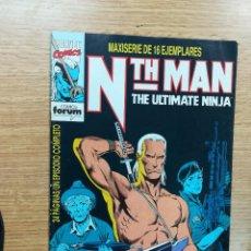 Cómics: NTH MAN THE ULTIMATE NINJA #2. Lote 106666803