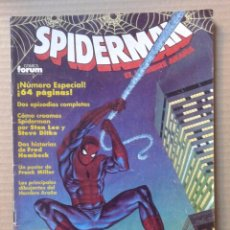 Cómics: SPIDERMAN N°200. ESPECIAL DE 64 PÁGINAS. COMICS FORUM, 1990. CON PÓSTER DE FRANK MILLER.. Lote 106707183
