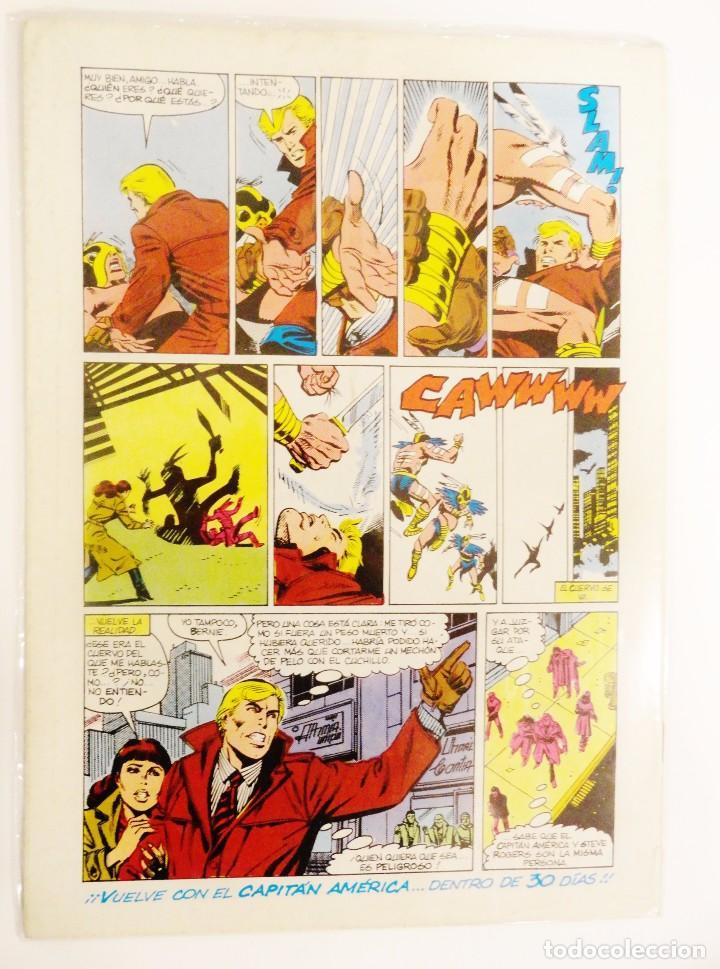 Cómics: CAPITÁN AMÉRICA VOLUMEN 1 FORUM NÚMERO 40. 140 PTAS. OCTUBRE 1987. 32 PÁG. - Foto 2 - 106816603