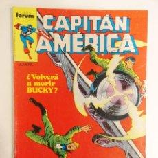 Cómics: CAPITÁN AMÉRICA VOLUMEN 1 FORUM NÚMERO 44. 140 PTAS. FEBRERO 1988. 32 PÁG.. Lote 106823343