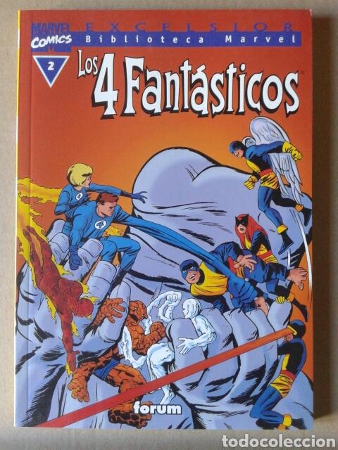 EXCELSIOR BIBLIOTECA MARVEL LOS 4 FANTÁSTICOS N°2. COMICS FORUM, 2001. (Tebeos y Comics - Forum - 4 Fantásticos)