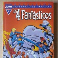 Cómics: EXCELSIOR BIBLIOTECA MARVEL LOS 4 FANTÁSTICOS N°2. COMICS FORUM, 2001.. Lote 106998044