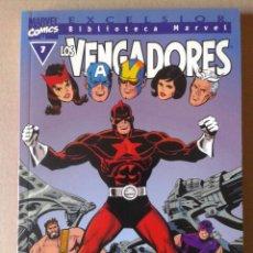 Cómics: EXCELSIOR BIBLIOTECA MARVEL LOS VENGADORES N°7. COMICS FORUM, 2001.. Lote 106998167