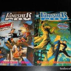 Cómics: COMICS CASTIGADOR PUNISHER P.O.V. - NÚMEROS 1 Y 2. Lote 107177759
