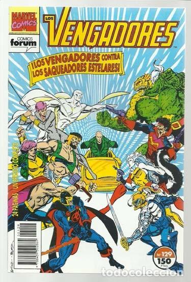 LOS VENGADORES 129, 1993, FORUM, IMPECABLE (Tebeos y Comics - Forum - Vengadores)