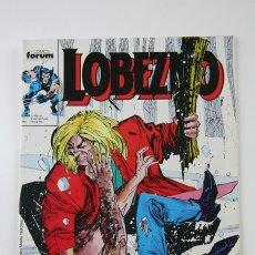 Cómics: CÓMIC LOBEZNO - VOLUMEN 1 NÚMERO 10 - DIENTES DE SABLE / 24 HORAS - COMICS FORUM AÑO 1990. Lote 107489998