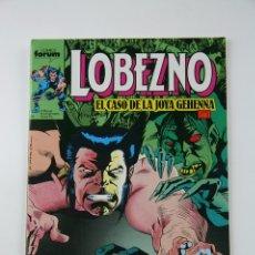 Cómics: CÓMIC LOBEZNO - VOLUMEN 1 NÚMERO 11 - EL CASO DE LA JOYA GEHENNA CAP. 1 - COMICS FORUM AÑO 1990. Lote 107489999