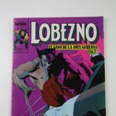 Cómics: CÓMIC LOBEZNO - VOLUMEN 1 NÚMERO 12 - EL CASO DE LA JOYA GEHENNA CAP. 2 - COMICS FORUM AÑO 1990. Lote 107490028