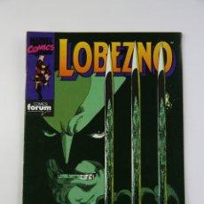 Cómics: CÓMIC LOBEZNO - VOLUMEN 1 NÚMERO 23 - FINALES - COMICS FORUM AÑO 1991. Lote 107490267