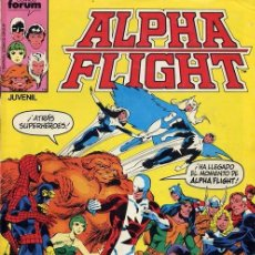 Cómics: ALPHA FLIGHT FORUM VOL 1 COMPLETA. 61 NUMEROS + 1 ESPECIAL. Lote 107561651