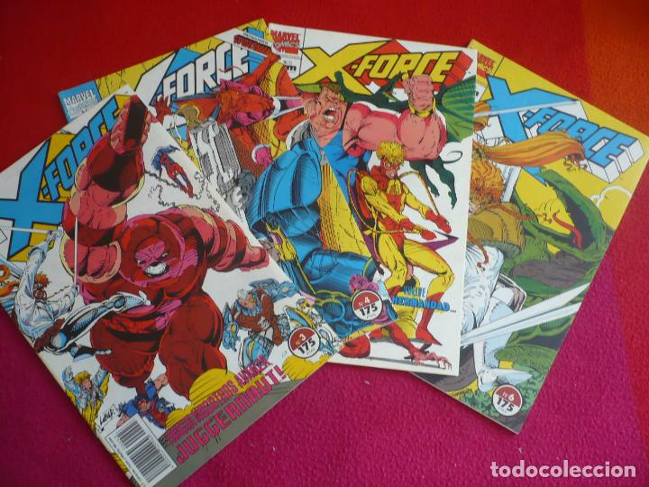 X FORCE VOL. 1 NºS 3, 4, 5 Y 6 ( LIEFELD NICIEZA ) ¡BUEN ESTADO! MARVEL FORUM 1992 (Tebeos y Comics - Forum - Otros Forum)