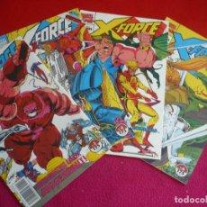 Cómics: X FORCE VOL. 1 NºS 3, 4, 5 Y 6 ( LIEFELD NICIEZA ) ¡BUEN ESTADO! MARVEL FORUM 1992. Lote 107664791