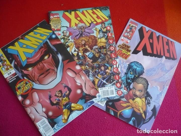 X MEN VOL. 2 NºS 59, 60 Y 61 ( ALAN DAVIS CLAREMONT YU ) ¡BUEN ESTADO! MARVEL FORUM 2001 (Tebeos y Comics - Forum - X-Men)