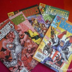 Cómics: LOS VENGADORES VOL. 3 NºS 22, 23, 24, 25 Y 26 (BUSIEK GEORGE PEREZ ) ¡BUEN ESTADO! MARVEL FORUM 2000. Lote 107665291