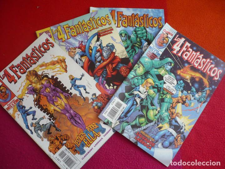 LOS 4 FANTASTICOS VOL. 3 NºS 11, 12, 13 Y 14 ( CLAREMONT LARROCA ) ¡BUEN ESTADO! MARVEL FORUM (Tebeos y Comics - Forum - 4 Fantásticos)