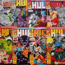 Fumetti: INCREDIBLE HULK & IRON MAN Nº 1 AL 8 COLECCIÓN CASI COMPLETA (FORUM). Lote 107792527