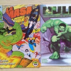 Cómics: 2 COMIC - LA MASA - HULK - FORUM. Lote 107811287
