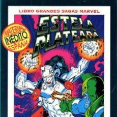 Cómics: LIBROS GRANDES SAGAS MARVEL: ESTELA PLATEADA 2 MUERTE EN EL ESPACIO. Lote 107942211