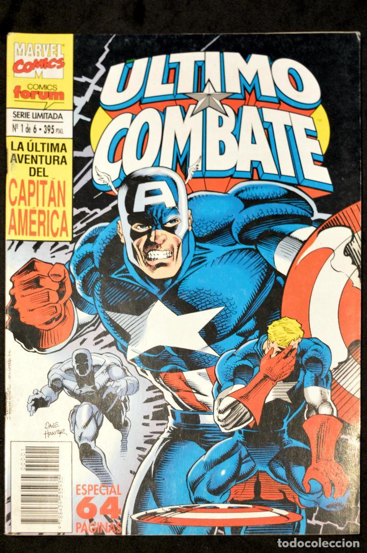 COMIC FORUM Nº 1 DE 6 MARVEL COMICS LA ULTIMA AVENTURA DEL CAPITAN AMERICA ULTIMO COMBATE (Tebeos y Comics - Forum - Capitán América)
