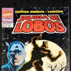 Cómics: COMIC FORUM MARVEL COMICS Nº 1 DE 5 CAPITAN AMERICA LOBEZNO JAURIA DE LOBOS. Lote 108013703