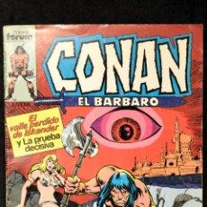 Cómics: COMIC FORUM CONAN EL BARBARO Nº 14 EL VALLE PERDIDO DE ISKANDER Y LA PRUEBA DECISIVA. Lote 108033319