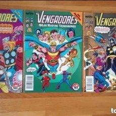 Cómics: VENGADORES 86,87,88 SAGA SUPER NOVA. Lote 108247311