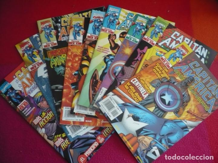 CAPITAN AMERICA CENTINELA DE LIBERTAD NºS 1 AL 9 ( MARK WAID ) ¡MUY BUEN ESTADO! MARVEL FORUM (Tebeos y Comics - Forum - Capitán América)