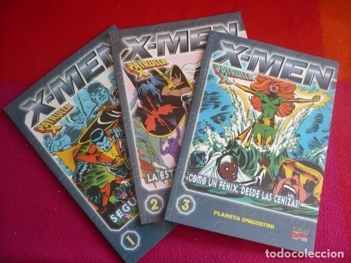 X MEN COLECCIONABLE 1, 2 Y 3 ( CLAREMONT COCKRUM ) ¡MUY BUEN ESTADO! MARVEL FORUM LA PATRULLA X (Tebeos y Comics - Forum - X-Men)