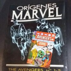 Comics: ORIGENES MARVEL Nº 4_THE AVENGERS. Lote 108391591