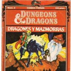 Comics - DUNGEONS & DRAGONS. (DRAGONES Y MAZMORRAS). Nº 2. FORUM (C/A7) - 108437931