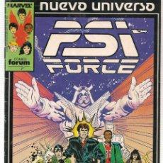 Cómics: NUEVO UNIVERSO. Nº 1. PSI FORCE. FORUM. (C/A7). Lote 108440739