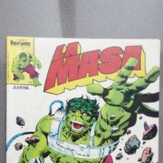 Comics: LA MASA, Nº 26, COMICS FORUM. Lote 108449427