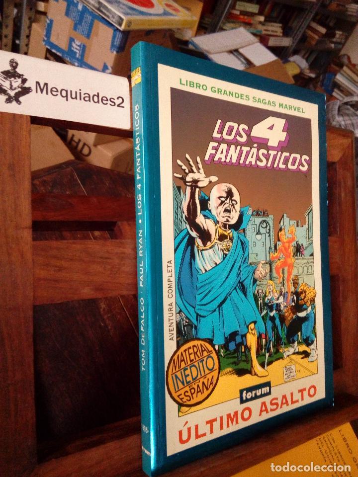 LOS 4 FANTASTICOS (GRANDES SAGAS MARVEL) (Tebeos y Comics - Forum - Prestiges y Tomos)