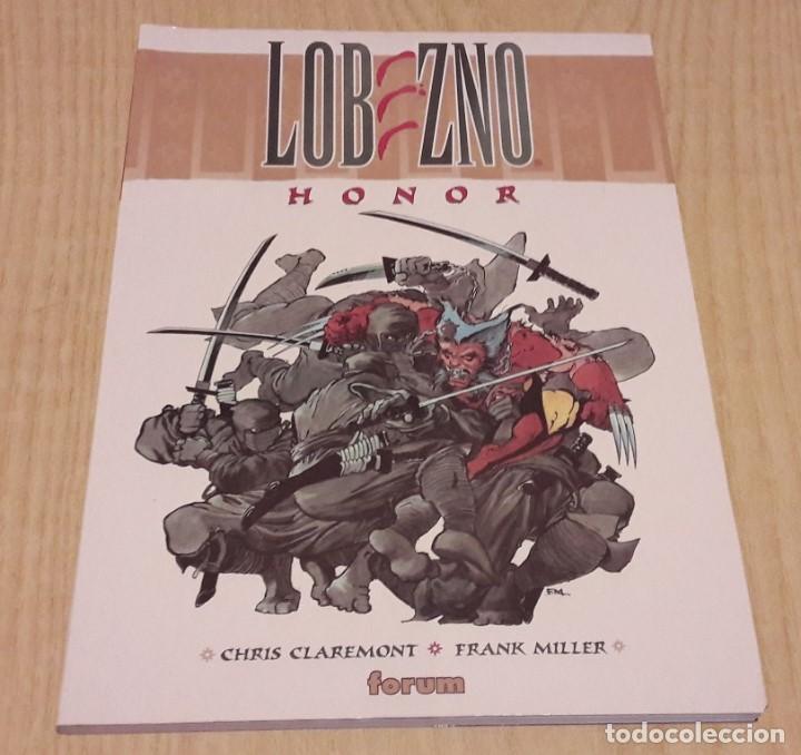 LOBEZNO HONOR.CHRIS CLAREMONT Y FRANK MILLER. (Tebeos y Comics - Forum - Prestiges y Tomos)