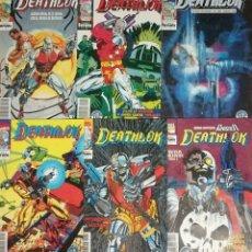 Cómics: DEATLOK 1,2,3,4,9,15. Lote 108772423