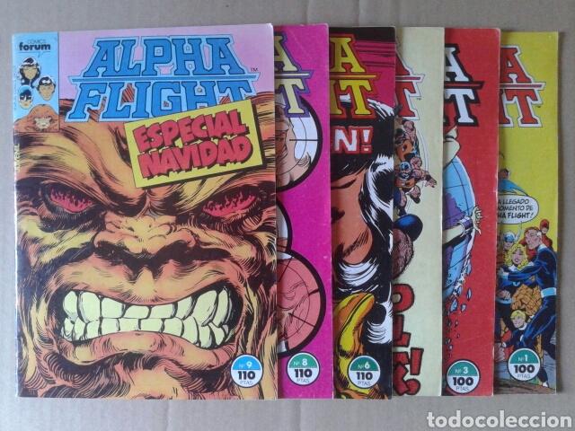 LOTE ALPHA FLIGHT. INCLUYE NÚMEROS 3-4-6-8-9-10-12-13-14-15-16-17-19-20-21-26. POR JOHN BYRNE (Tebeos y Comics - Forum - Alpha Flight)