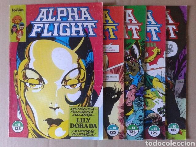 Cómics: Lote Alpha Flight. Incluye números 3-4-6-8-9-10-12-13-14-15-16-17-19-20-21-26. Por John Byrne - Foto 2 - 108784608