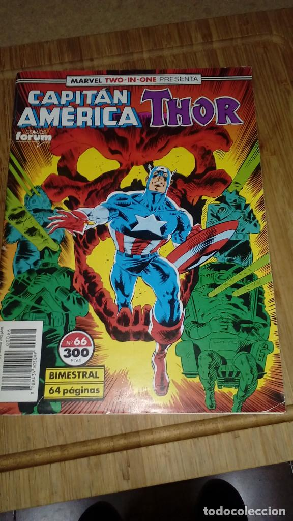 CAPITÁN AMÉRICA THOR Nº 66 MARVEL TWO IN ONE (Tebeos y Comics - Forum - Capitán América)