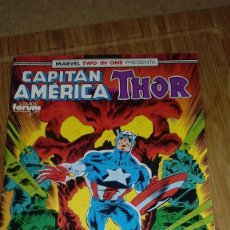Cómics: CAPITÁN AMÉRICA THOR Nº 66 MARVEL TWO IN ONE. Lote 108809783