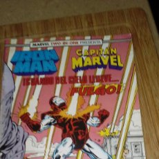 Cómics: IRON MAN CAPITAN MARVEL Nº 49 MARVEL TWO IN ONE FORUM. Lote 108810759