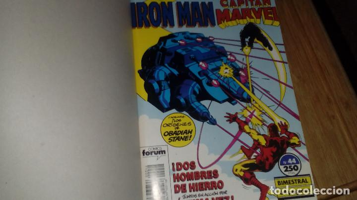 Cómics: Iron Man Capitan Marvel Retapado con Nº 44-45-46 Marvel two in one FORUM - Foto 2 - 108811235