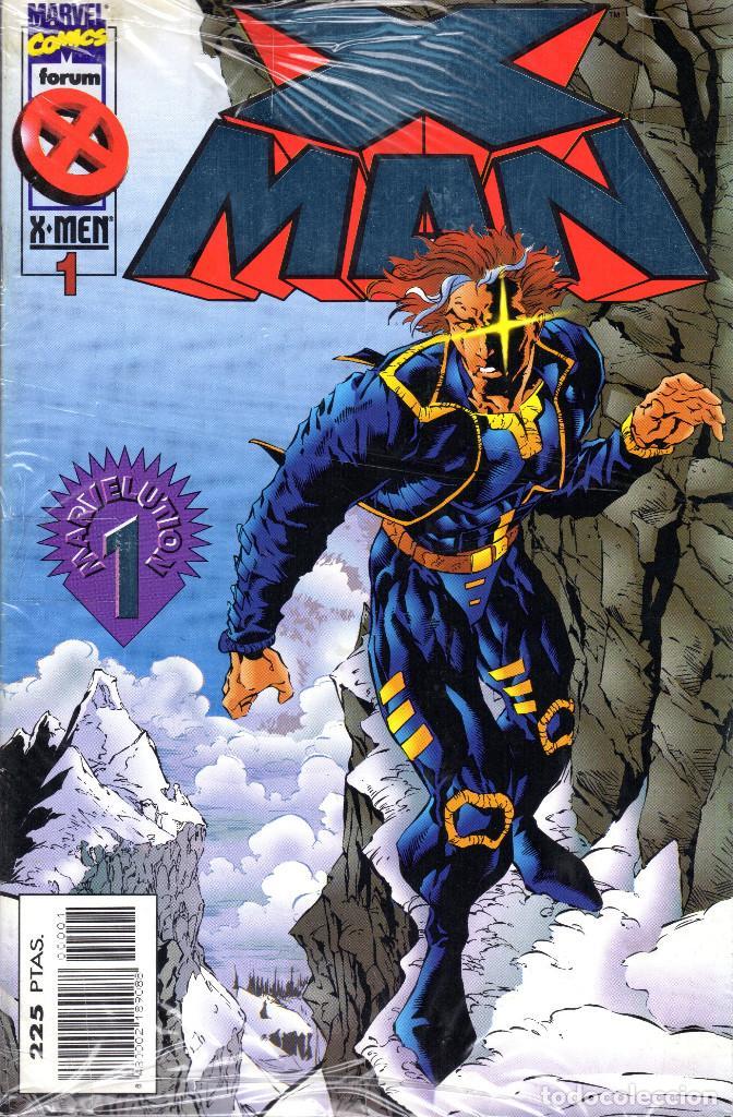 X MAN 1 AL 49 COMPLETA; EXCALIBUR 9; VENGADORES 13 (Tebeos y Comics - Forum - Otros Forum)