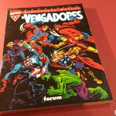 Cómics: LOS VENGADORES 9 EXCELENTE ESTADO BIBLIOTECA MARVEL EXCELSIOR FORUM. Lote 108876679