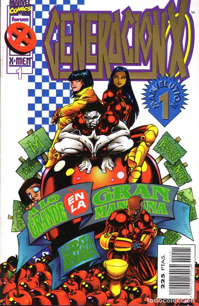 GENERACIÓN X VOL II -1 AL 49 COMPLETA (Tebeos y Comics - Forum - Otros Forum)