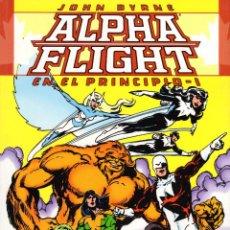 Cómics: ALPHA FLIGHT: EN EL PRINCIPIO 1 Y 2 COMPLETA -JOHN BYRNE. Lote 108977671
