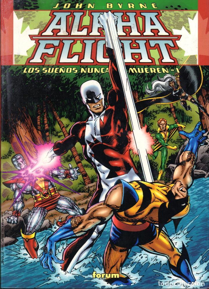 ALPHA FLIGHT: LOS SUEÑOS NUNCA MUEREN 1 Y 2 COMPLETA -JOHN BYRNE (Comics und Tebeos - Forum - Alpha Flight)