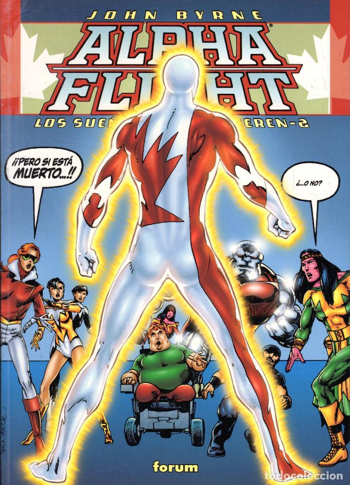 Comics: Alpha Flight: los sueños nunca mueren 1 y 2 completa -John Byrne - Foto 2 - 108977735