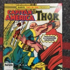 Cómics: CAPITÁN AMÉRICA - THOR Nº 56 - MARVEL TWO IN ONE. Lote 109063023